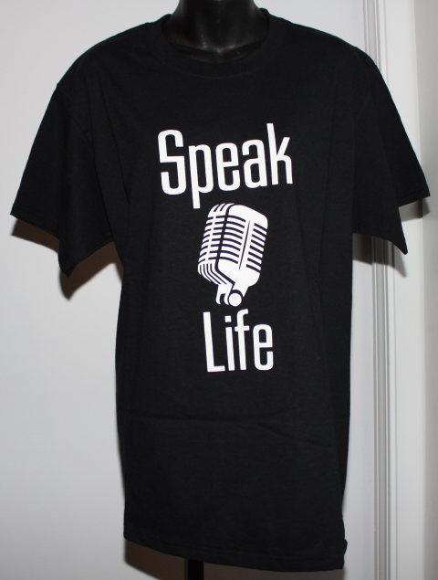 Speak Life T-Shirt Microphone 1