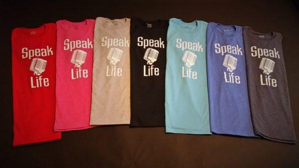Speak Life T-Shirt Microphone 2