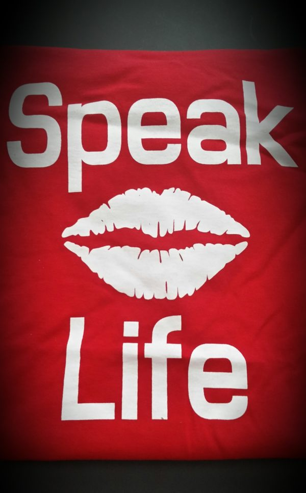 Speak Life T-Shirt Lips 3