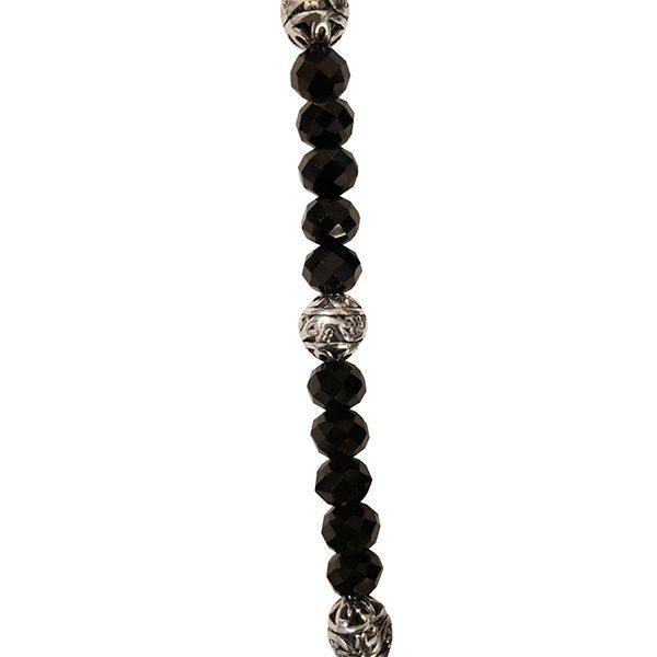 Black Tassel Necklace 3