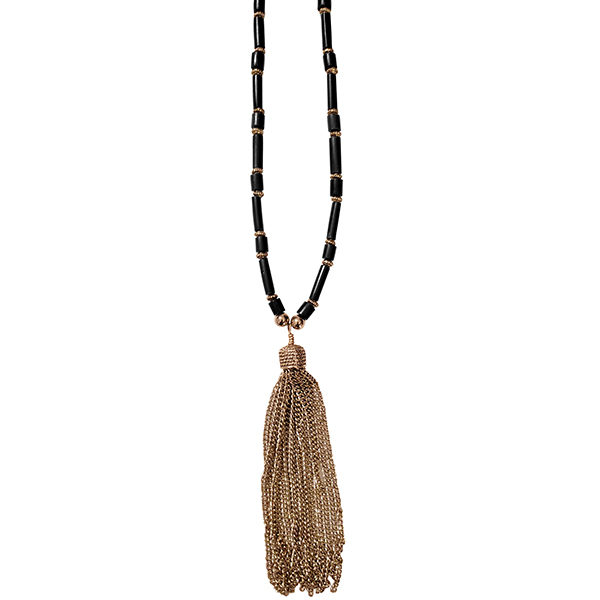 Black Horn Necklace 2