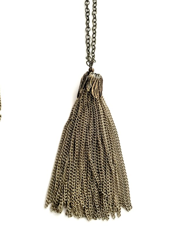 Antique Brass Tassel 2