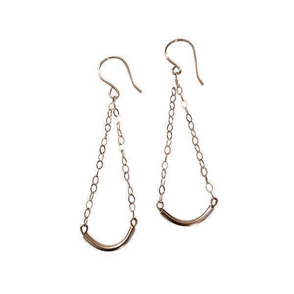Sterling Bars Earrings 2