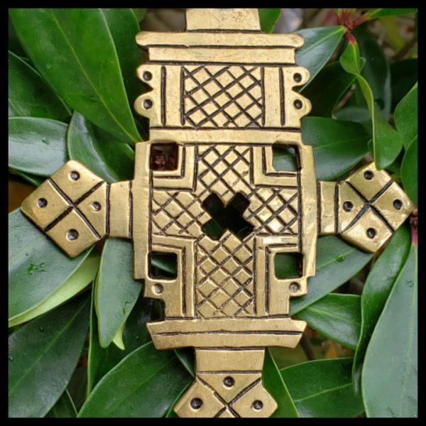 Ethiopian Brass Cross 1