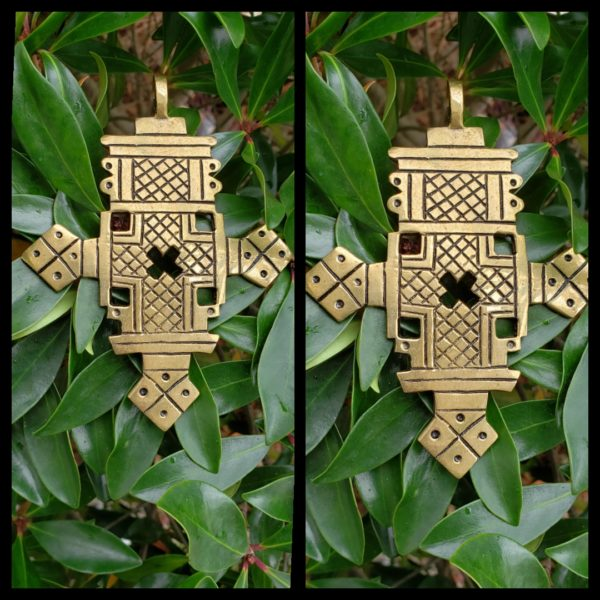 Ethiopian Brass Cross 2
