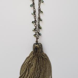 Antique Brass Tassel 1