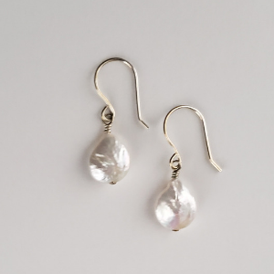 12mm Coin Pearl in Sterling 1