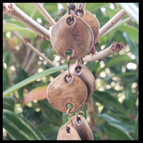 Antique Copper Earrings 2