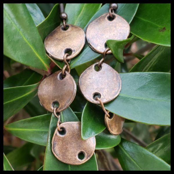 Antique Copper Earrings 1