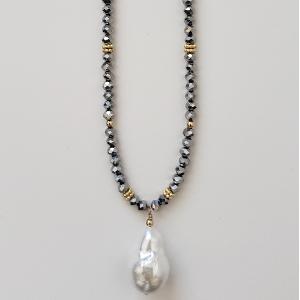Baroque Pearl Pendant 1
