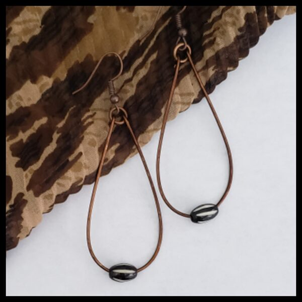 Antique Copper Earrings 1