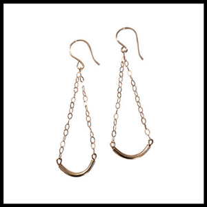Sterling Bars Earrings 1