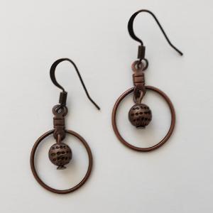Antique Copper Dangles 1