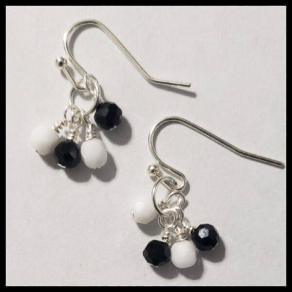 Black and White Dangles 1