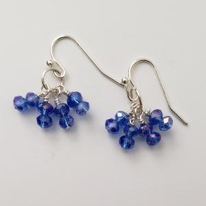 Blue Crystal Dangles 1