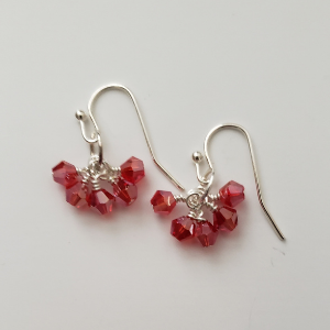 Red Crystal Dangles 1
