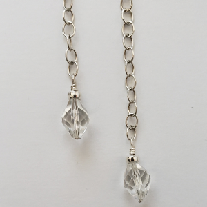 Crystal and Sterling Dangles 2